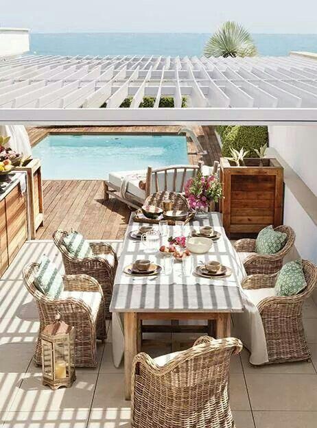 Revista el mueble festas e mesas especiais pinterest for El mueble terrazas