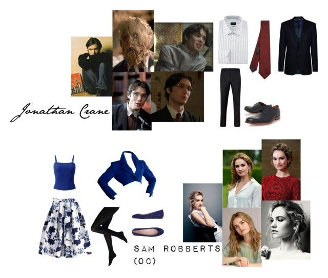 """Sam Robberts OC"" by littleapplecat ❤ liked on Polyvore featuring Murphy, Ted Baker, Grenson, Ermenegildo Zegna, Armani Collezioni, Yves Saint Laurent and Tod's"