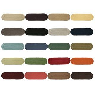 Best Twenty Colors Solid Oval Braided Stair Treads Set Of 13 Stair Treads Stairs Carpet Stair 400 x 300