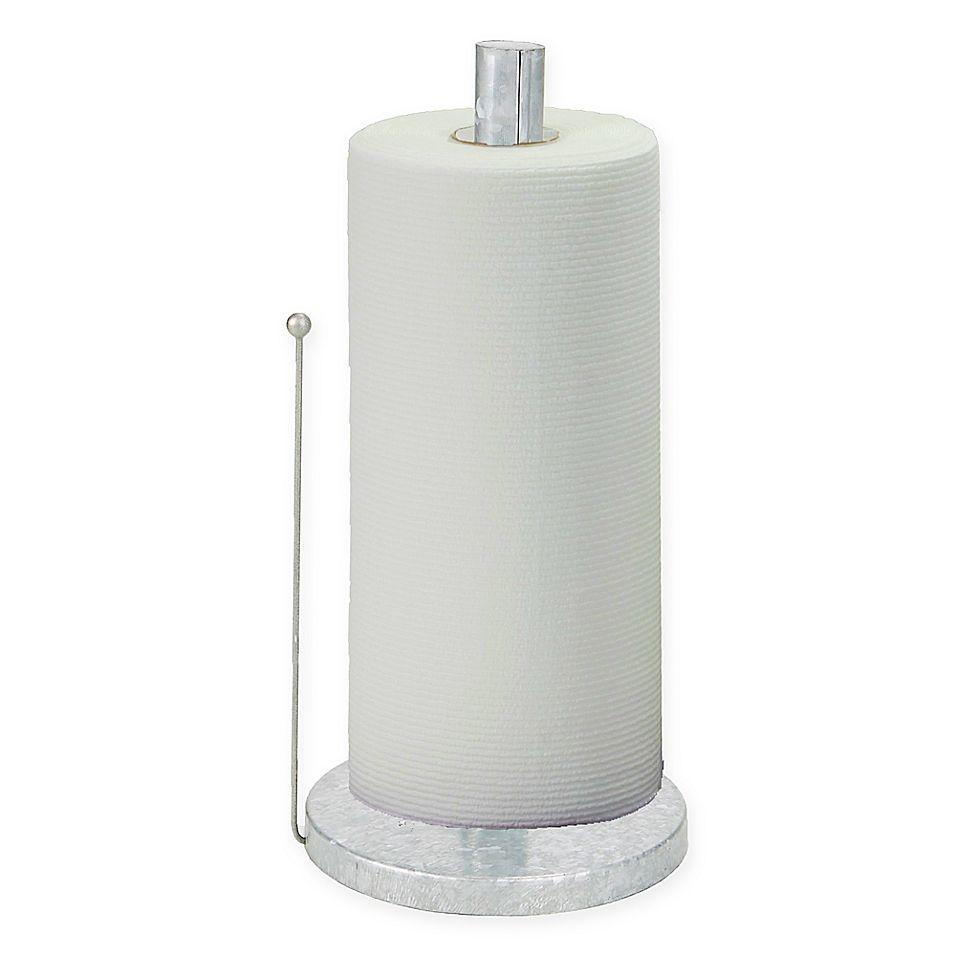 Mind Reader Metal Free Standing Paper Towel Holder In Silver Paper Towel Holder Towel Holder Mind Reader