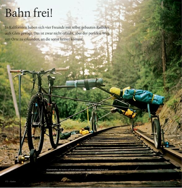 Rail Biking Holy Wanderlust Instigator Hunter S Bicycling And