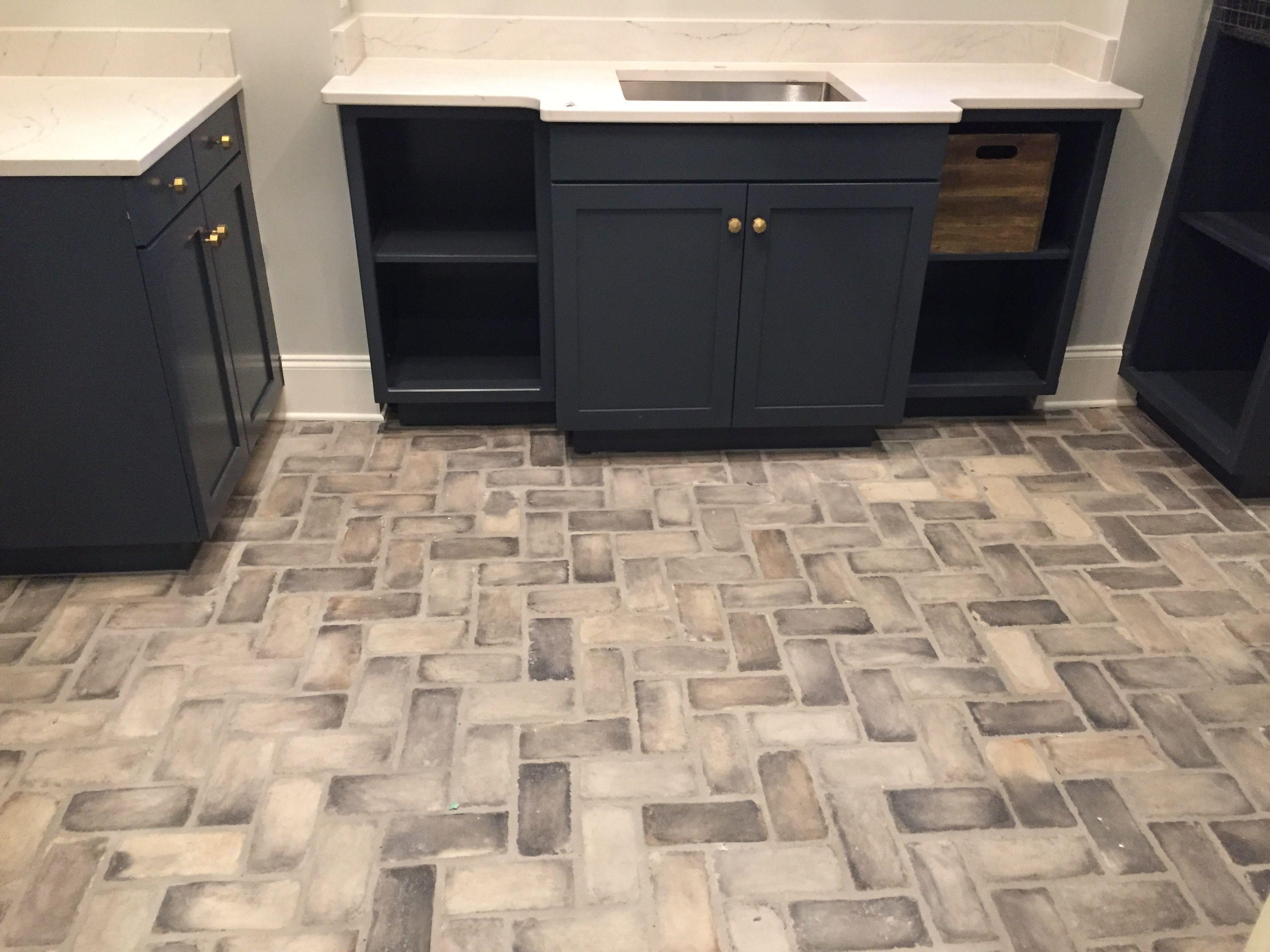 Brick A Floor Burnished Pewter | Kitchen decor, Bathroom ...