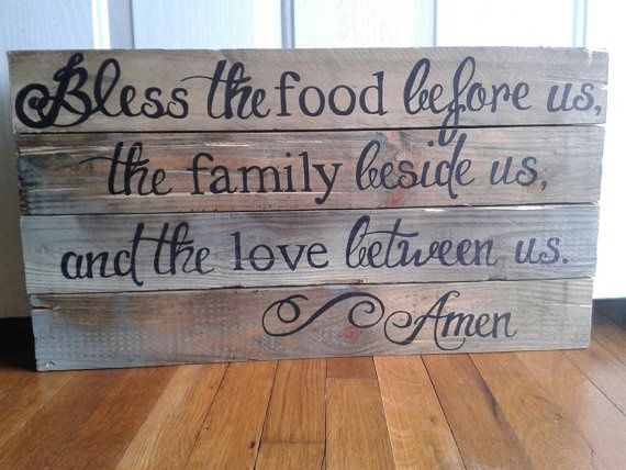 cute in the kitchentable.custom wooden signheartshot on
