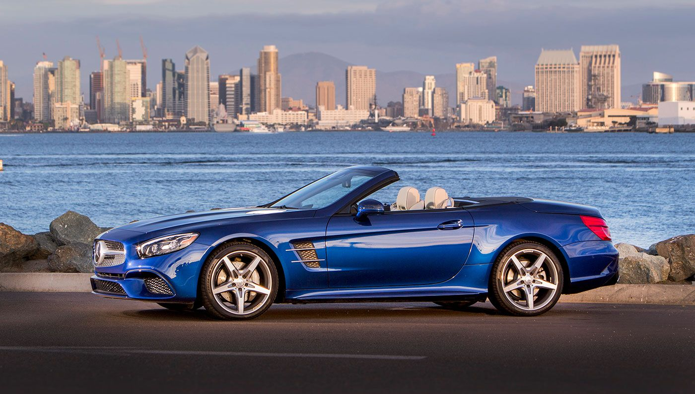 Driving the 2017 Mercedes-Benz SL-Class Convertible [REVIEW ...