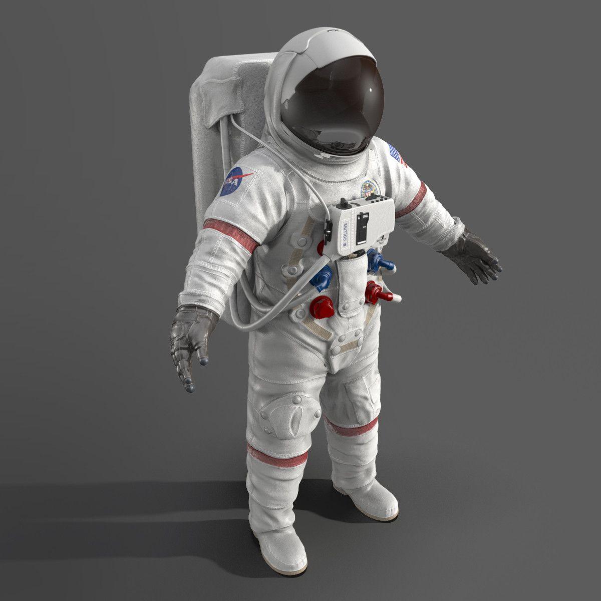 3d Astronaut Space Suit Model Space Suit Astronaut Space Suit Astronaut