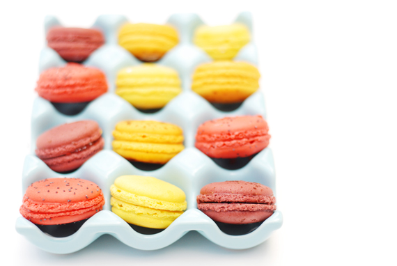 Mini Macaroon Soap Cake Mould Flexible Silicone Cookie Mold Chocolate R1474