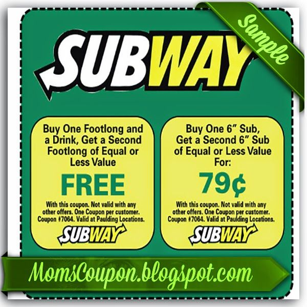 Subway Coupons February 2015 Local Coupons February Grocery