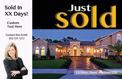 Just Listed/Just Sold Postcards - All Real Estate Marketing Needs ...