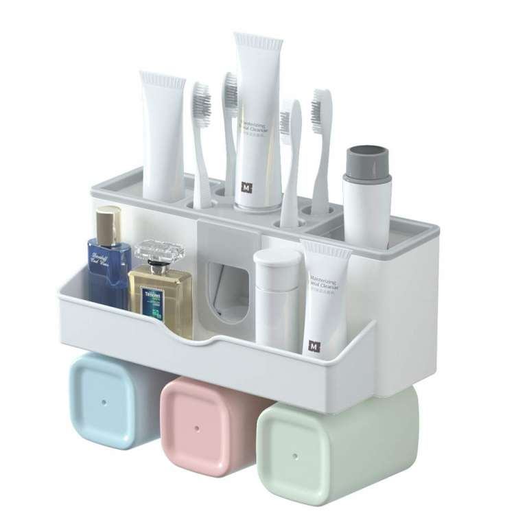 Top 10 Best Toothbrush Holders In 2020 Review In 2020 Brushing Teeth Toothpaste Dispenser Toothbrush Holder
