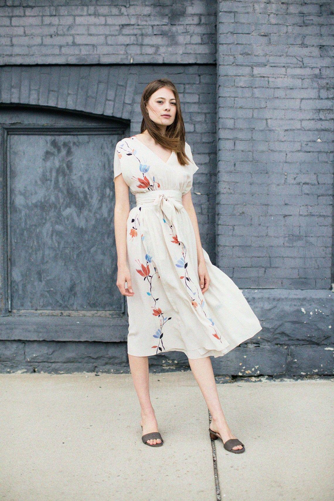 No. 6 - Vine Scarlett Dress BONA DRAG | Clothes for olive | Pinterest