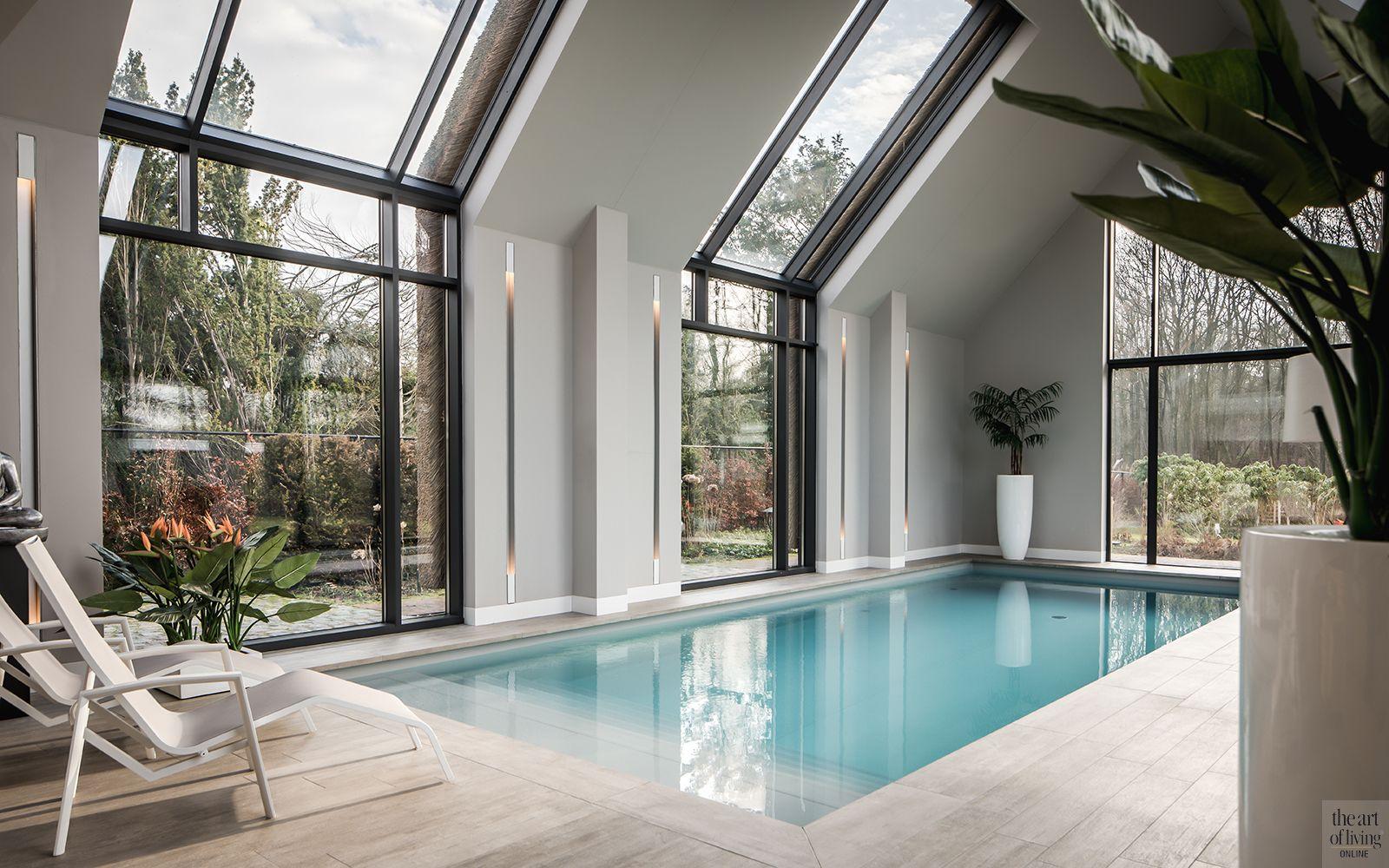 Villa met natuurlijke materialen
