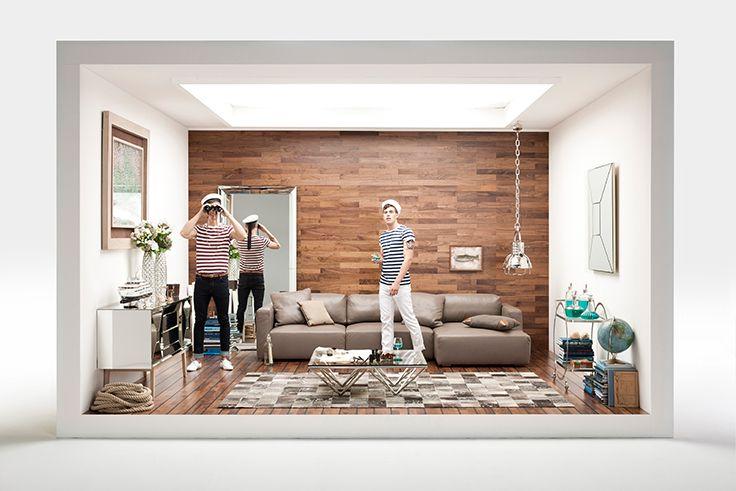 Le mélange de beaux matériaux avec des designs actuels et contemporains de la marque kare design kareclick kare karedesign karefrance home mobiler