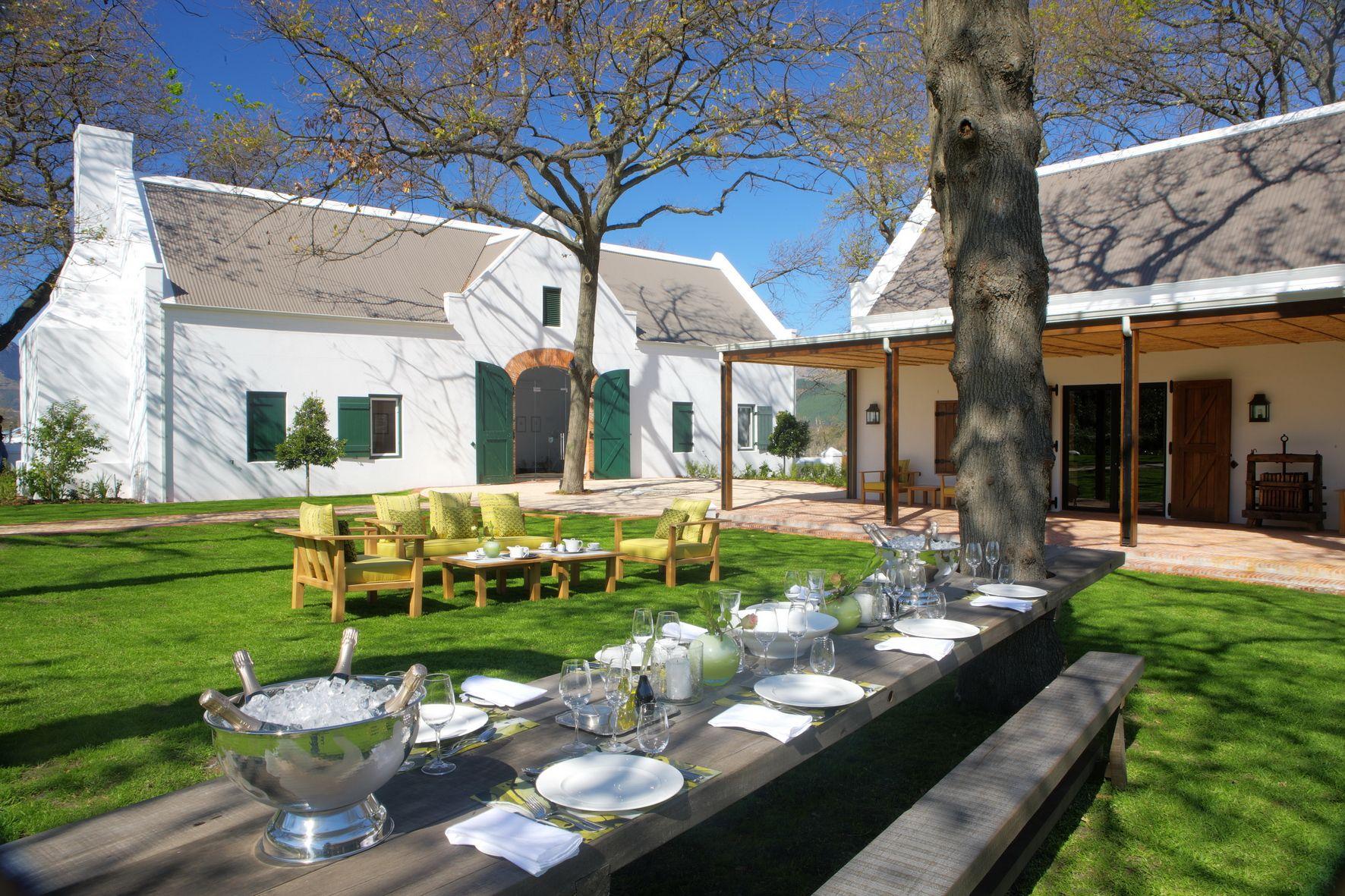 La Motte Wine Estate In Franschoek Cape Town South Africa Franschhoek South Africa Wine