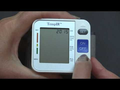 Tempir Blood Pressure Monitor Instructions And Customer Reviews