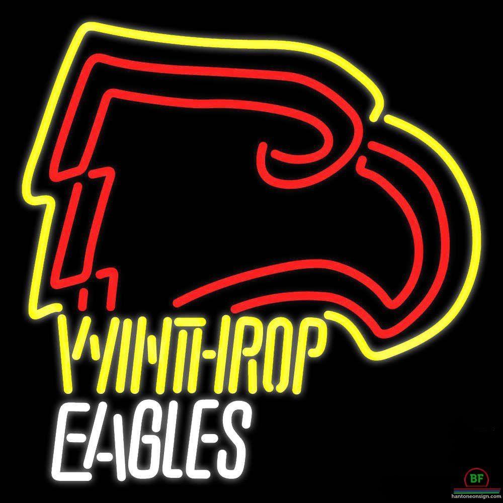 Winthrop Eagles Neon Sign NCAA Teams Neon Light