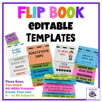 flipbook template