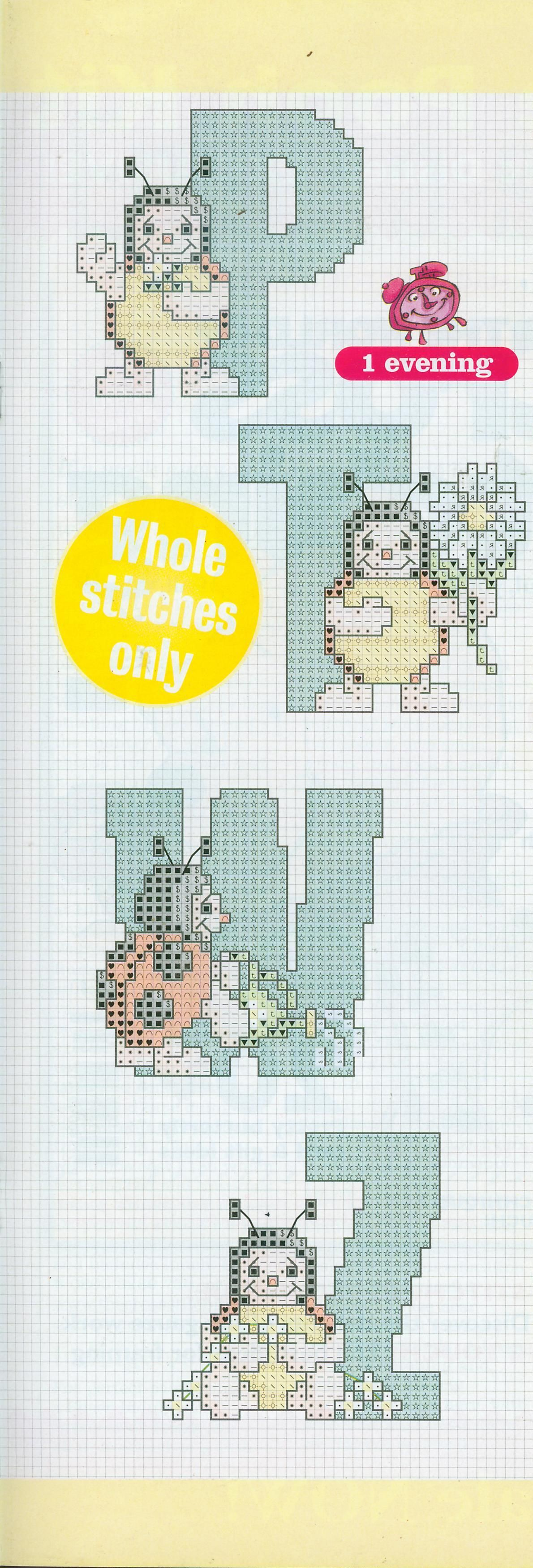 """Cross Stitch Grazy"" 2001 №21"