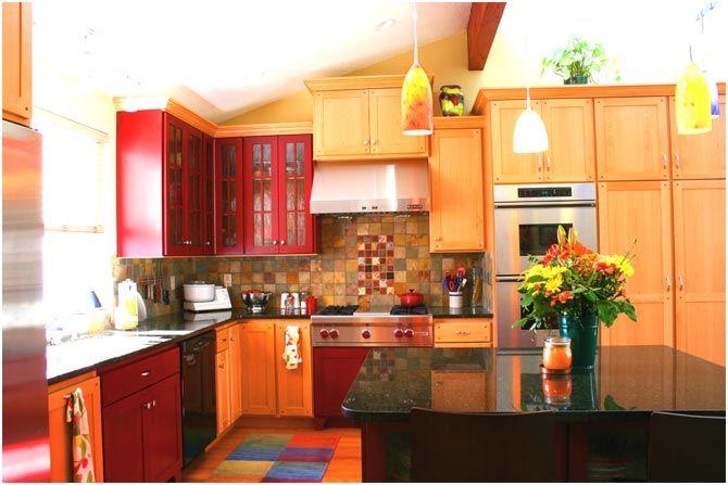 Amazing Grey Orange Decor | Kitchens   Colour Infusion With Orange | Terrys  Fabricsu0027s Blog