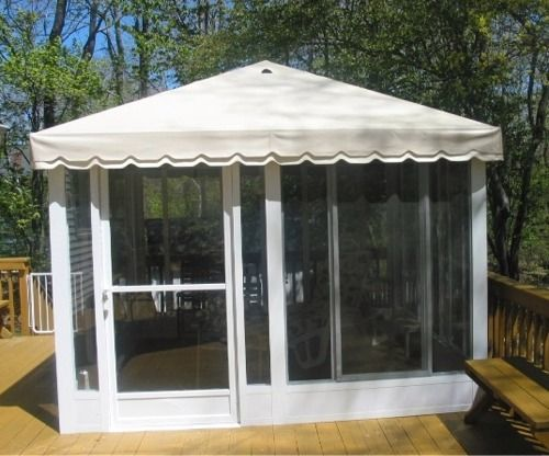 Enclosed patio kits prices do it yourself free standing for Outdoor screen room ideas