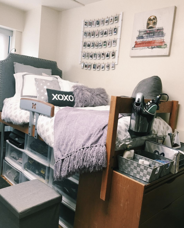 10 Dorm Room Necessities You Never Knew You Needed Dorm Room Designs Dorm Room Organization Dorm Room Themes