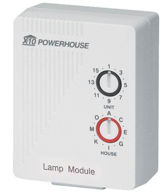 X10 Lamp Module Lm465c 110v 220v 50hz 60hz Home Automation Go Shop Electronics Home Automation Smart Home Automation Home Automation System