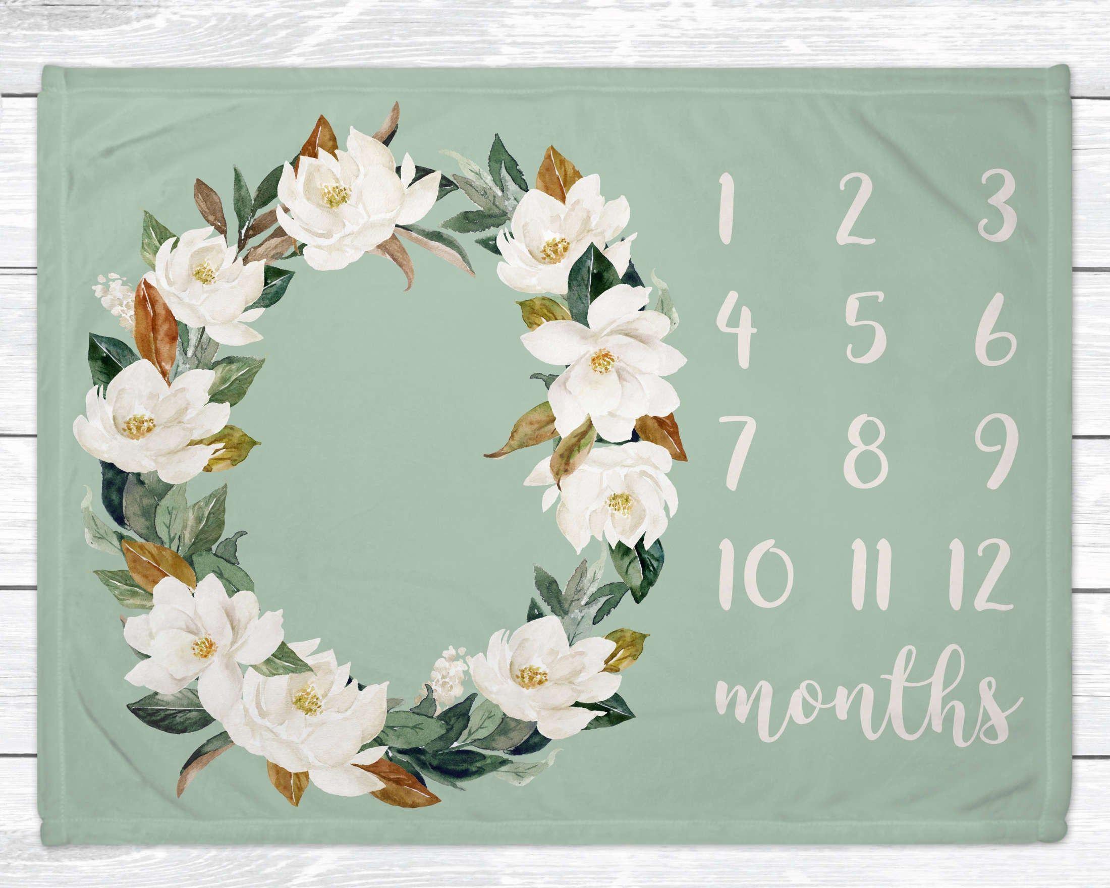 Monthly Baby Milestone Blanket Milestone Blanket Girl Etsy In 2020 Milestone Blanket Baby Milestone Blanket Gender Neutral Baby Blanket