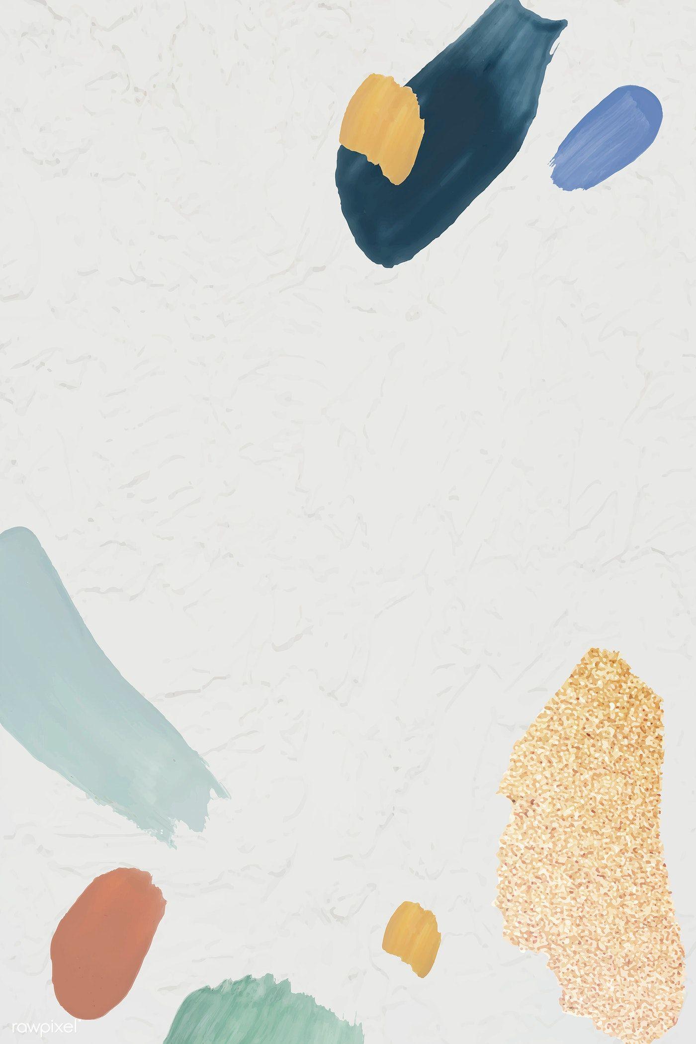 Download premium vector of Blank abstract design element