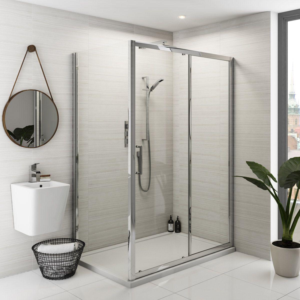 Mode Ellis premium 8mm easy clean shower enclosure | Rectangular ...