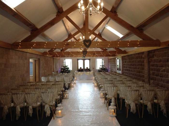 The Entrance Barn At Heaton House Farm Wedding Venue