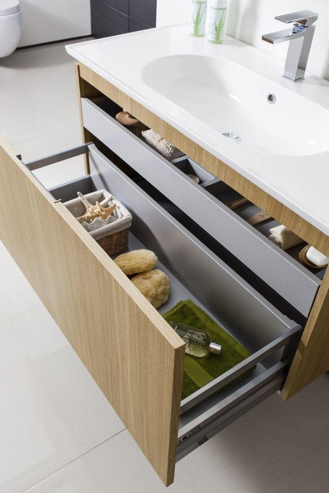 Linea Spanish Oak   Bauhaus Bathrooms - Furniture, Suites, Basins - Ultimate Bathroom Solutions