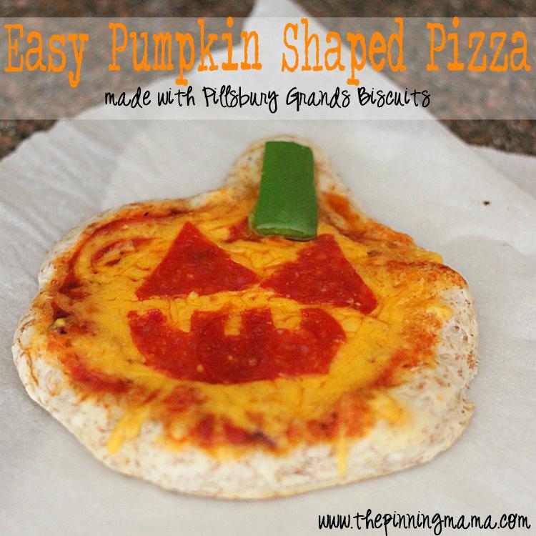 Easy Weeknight Dinner Pillsbury Pumpkin Shaped Pizza