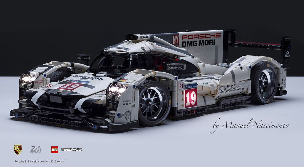 lego technic porsche 919 le mans 2015 v by manuel. Black Bedroom Furniture Sets. Home Design Ideas