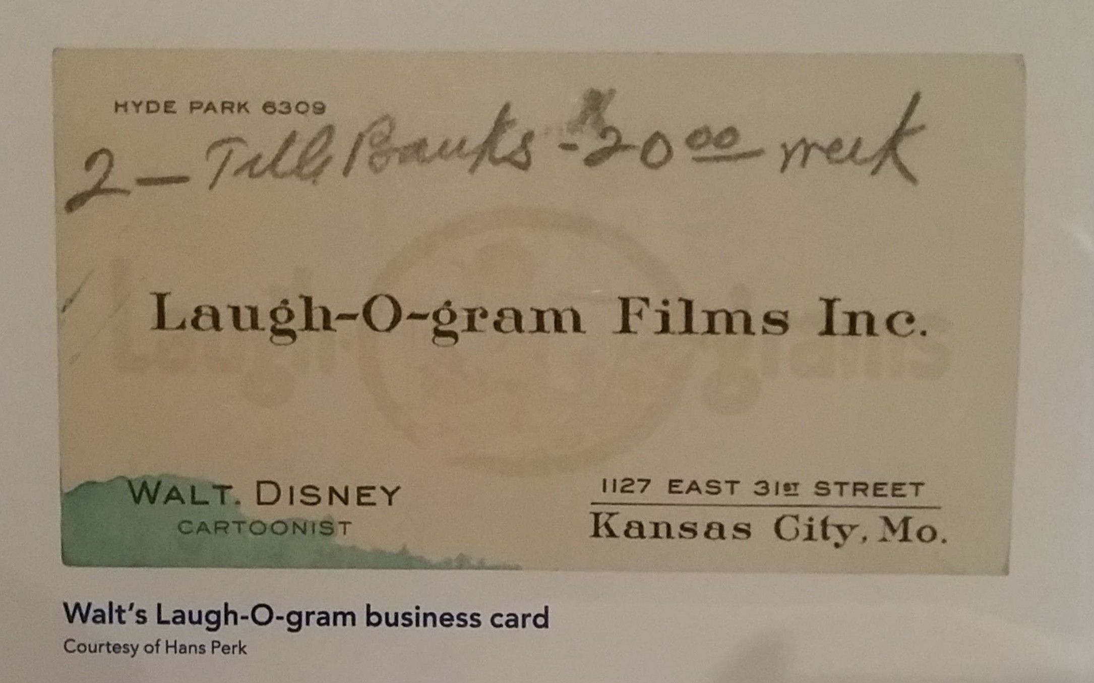 8 walt disney fun facts i learned from my time at the walt disney walt disney family museum laugh o films business card colourmoves