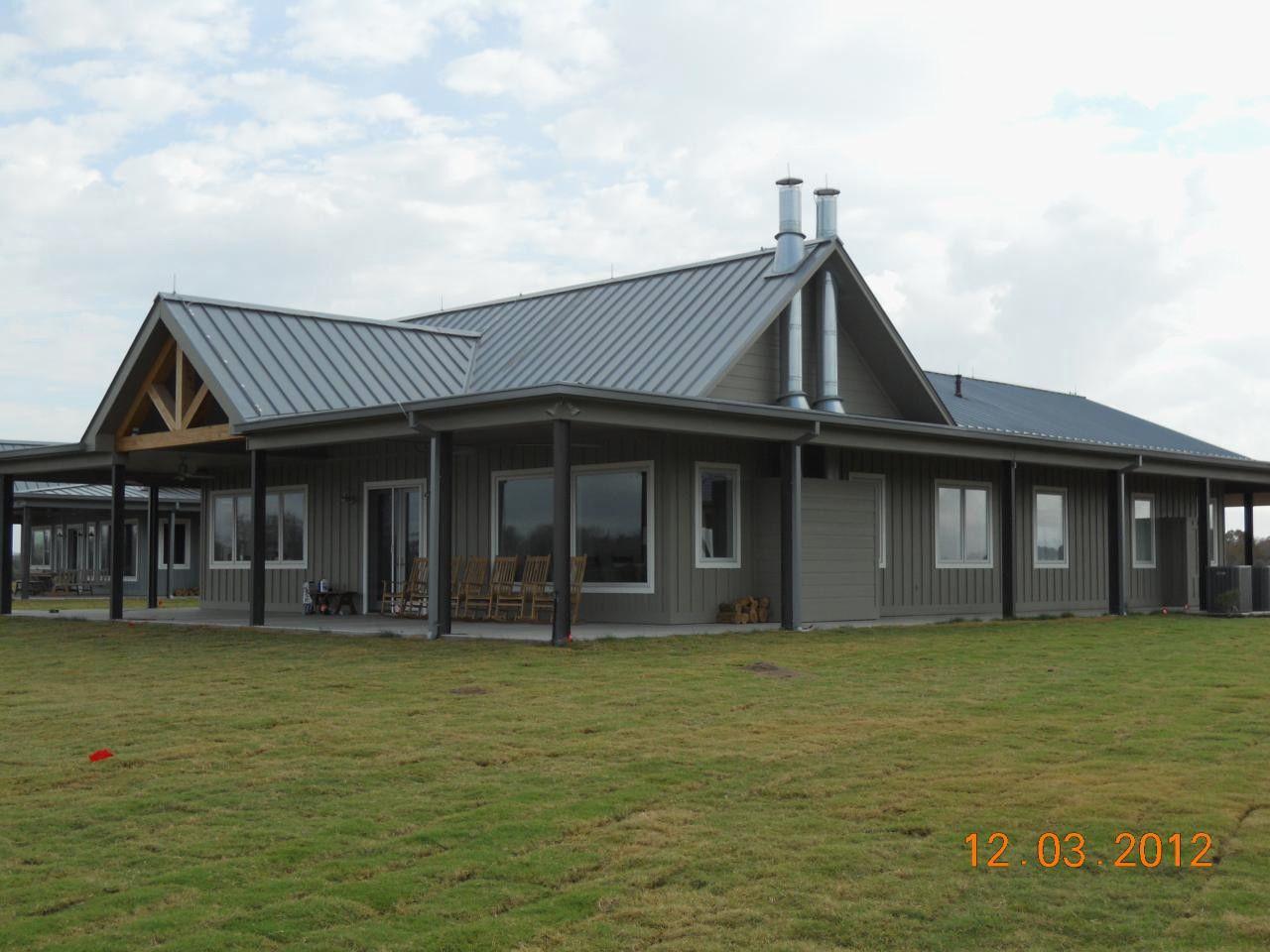 Wrap around porch house plans in barndominium floor also roof line rh pinterest