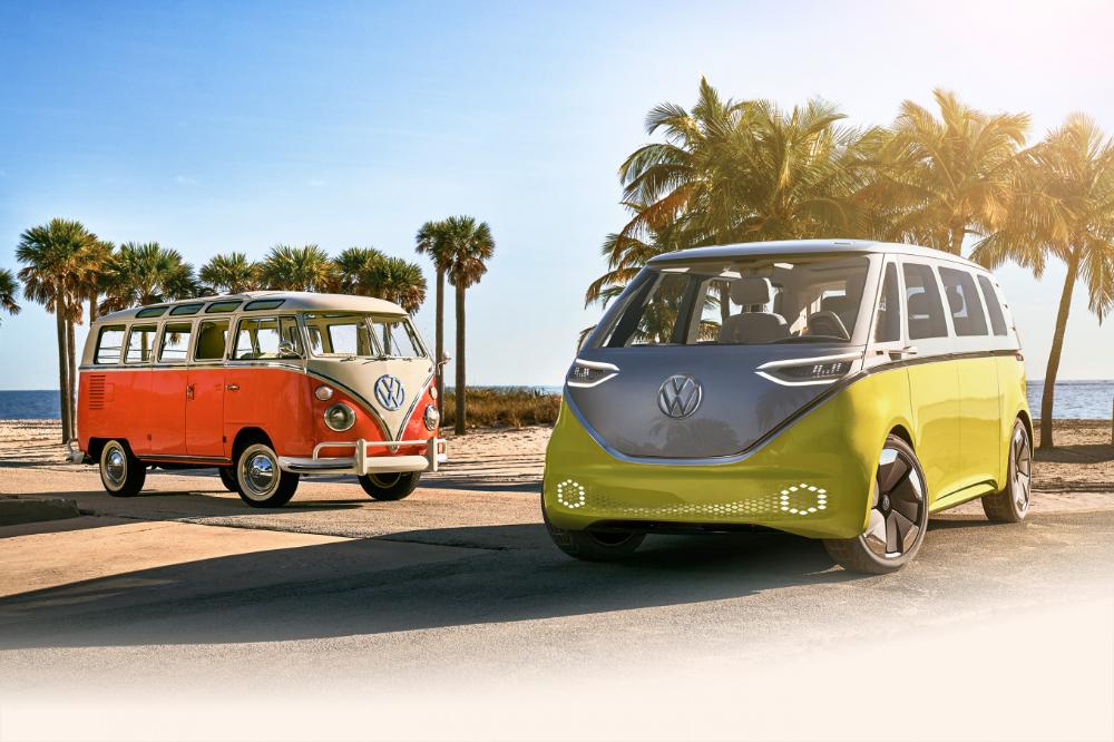 Volkswagen Hippie Van 2020 Interior