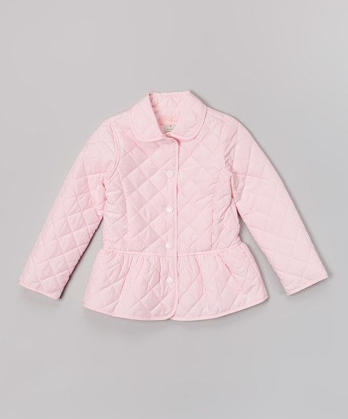 8301997dc67 Candy Pink Quilted Jacket - Toddler & Girls by E-Land Kids ...