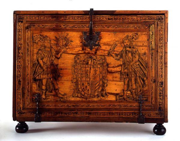 Escritoire de los danzantes furniture antiques muebles chapa de madera y muebles antiguos - Muebles marroquies en madrid ...