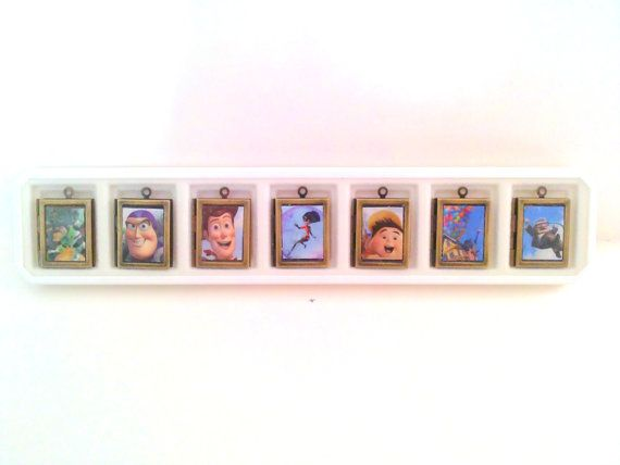 Choose Your Own Disney Character Locket Gift by ShadowsATmidnight, $15.00