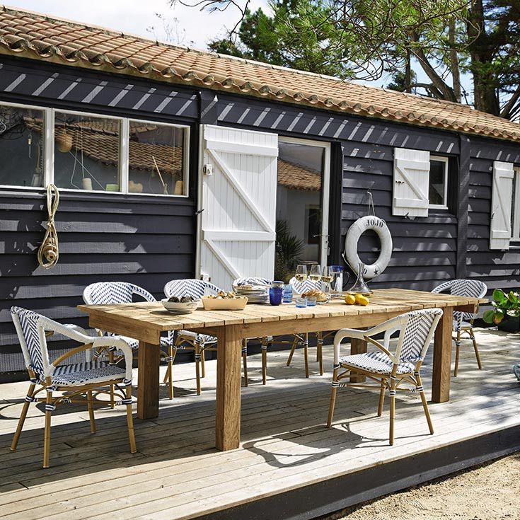 mobilier et d coration de style bord de mer maisons du monde oh my garden d co pinterest. Black Bedroom Furniture Sets. Home Design Ideas