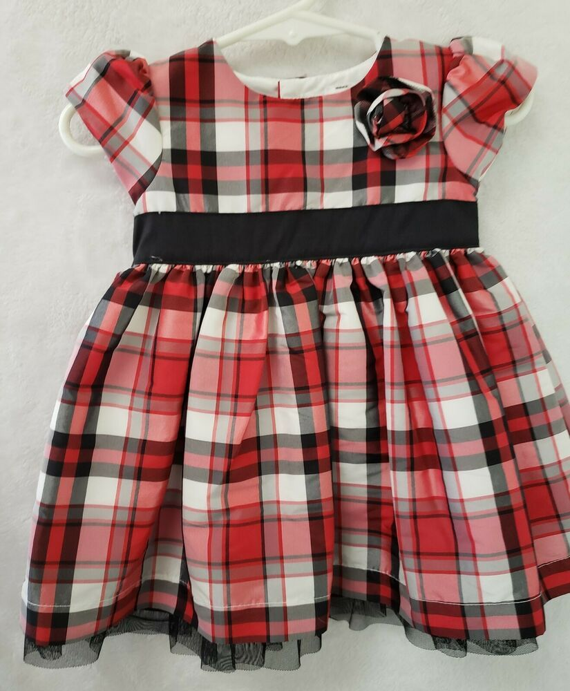 d4c1363d4ab carters infant girls dress size 6mo short sleeve back buttons ...