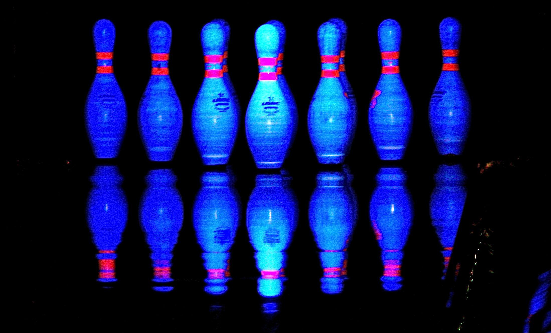 Bowling Pins Glow Bowling Cosmic Bowling Bowling Pins