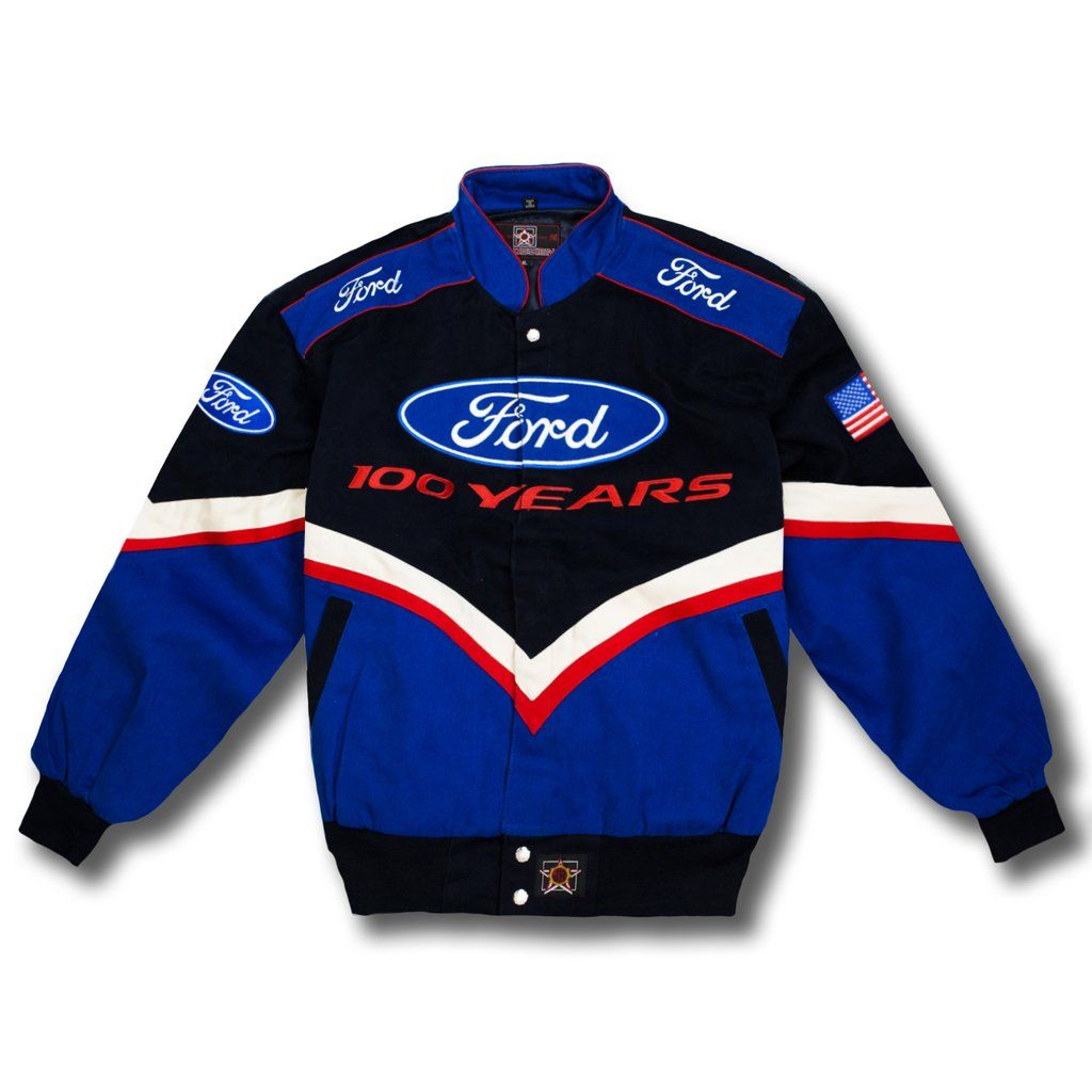 Vintage NASCAR Ford 100 Years Race Jacket New in 2020