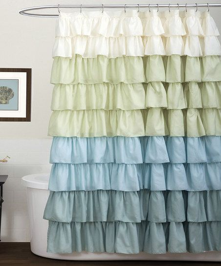 Ruffle Shower Curtain   Super Cute