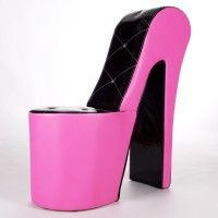 High Heel Sessel high heel sessel lack erotik pur design sessel