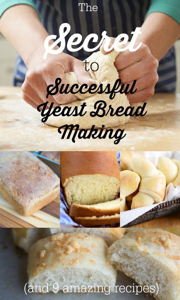 Bread Making Tips and Easy Yeast Bread Recipes