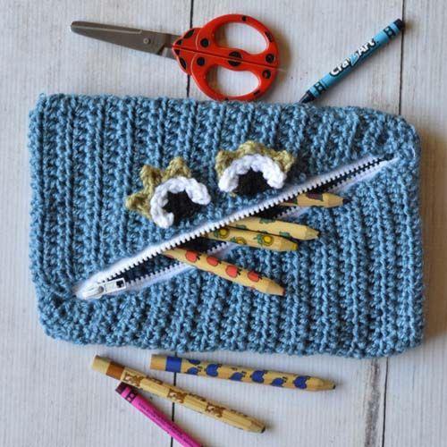 Free Crochet Monster Pouch Pattern | Pinterest