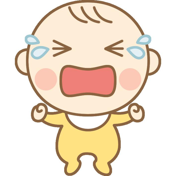 泣いているかわいい赤ちゃん 赤ん坊 のイラスト 無料フリーイラスト素材集 Frame Illust 2021 イラスト かわいい赤ちゃん 子供イラスト