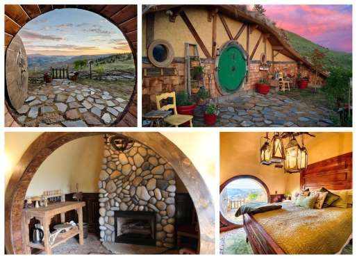 Hobbit House In Orondo Washington Tolkien Fans Seeking A Hobbit Home Of Their Own Don T Have To Trek To The Mythi Hobbit House Architecture Eco Friendly House