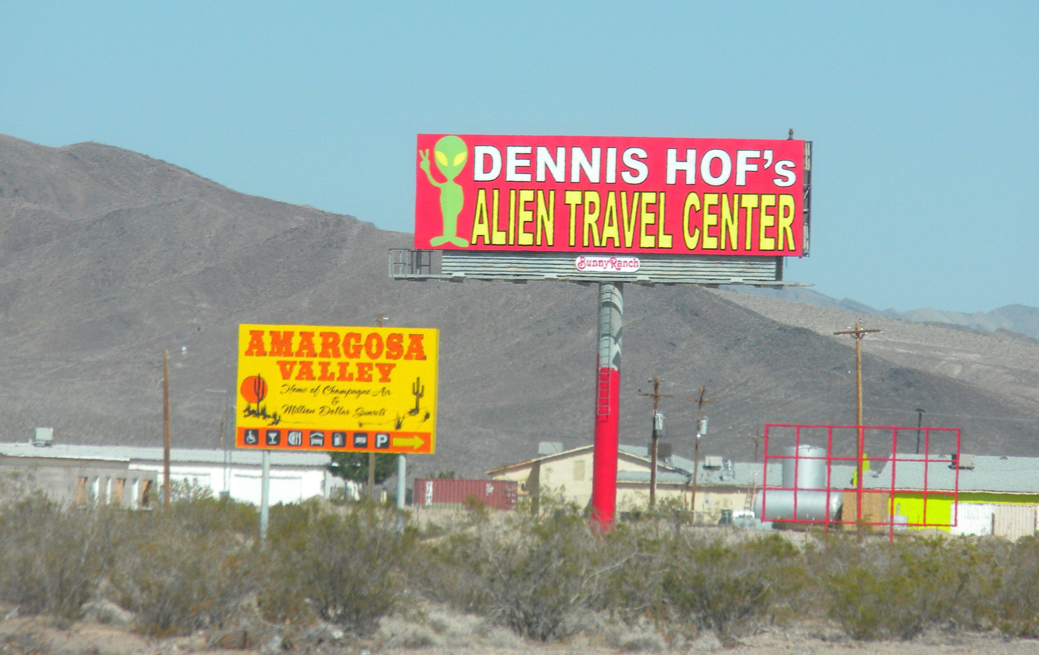 Alien Travel Center, Highway 95, Amargosa Valley, Nevada