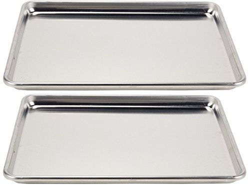 Vollrath 5314 Wearever Collection Halfsize Sheet Pans Set Of 2 18inch X 13inch Aluminum To View Further For This Item Vis Sheet Pan Half Sheet Pan Pan Set